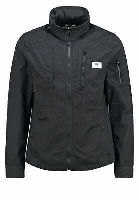 NEW G STAR POWEL OVERSHIRT LS Light Jacket King BT Black