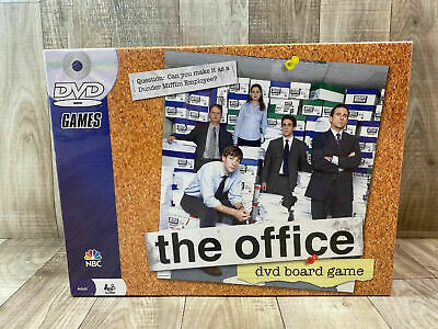 New The Office DVD Trivia Board Game Pressman 2008 Brand New Sealed NBC