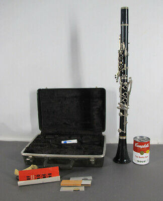Antique/Vintage 1975 Selmer Bundy Resonite Clarinet For Parts or Restoration yqz