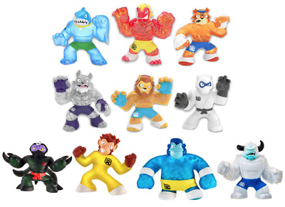 Heroes of Goo Jit Zu Action Figures - All models! NEW! Stretch  Squish and More!