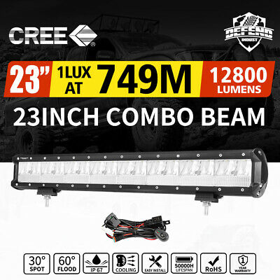 "DEFEND 23inch Cree LED Light Bar Combo Driving Lamp Offroad 4WD SUV Truck 22""23"""