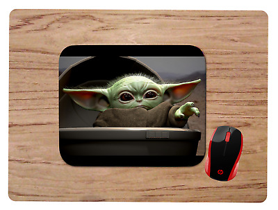 Baby Yoda Uses The Force Mousepad Mouse Pad Home Office Gift