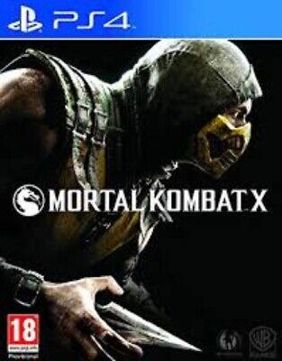 Mortal Kombat X - PlayStation 4 (PS4) Game. Case and Disc.