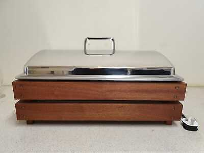 Castle Chafer Electric Chafing Dish Special Introductory Offer Limited 10 Units