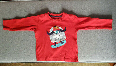 Frugi boys long sleeve top Age 2-3 years 90-98cm.Organic Cotton Good condition.