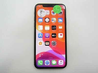 Apple iPhone X A1901 64GB Unlocked Check IMEI RS010