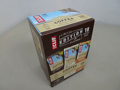 Clif Bar Limited Edition - 3 Flavors Espresso Coffee Collection - 18 energy bars