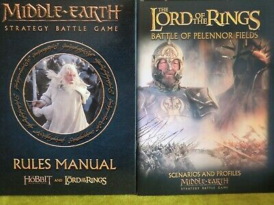 Lord Of The Rings / Hobbit - Middle Earth Rules Manual And Scenarios **New**