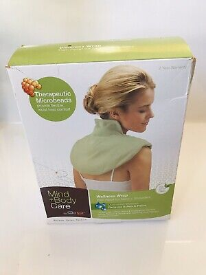 Mind & Body Neck and Shoulder Wrap Hot Pad Heat Therapy Care Body Pain Relief