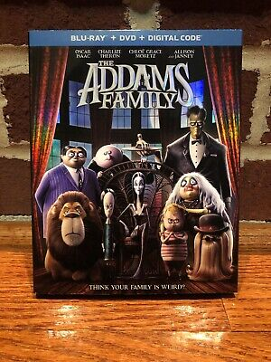 The Addams Family Blu Ray