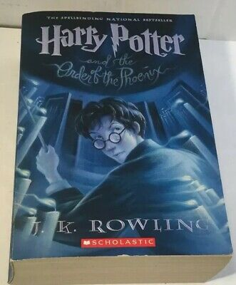 Harry Potter: Harry Potter and the Order of the Phoenix 5 by J. K. Rowling PB VG