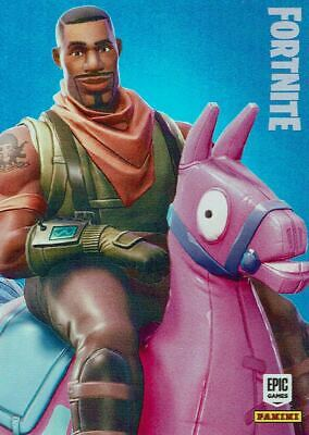 Fortnite trading card nº 215-Giddy Up-Epic-Crystal FOIL parallèle