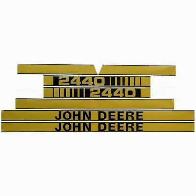 Decal Hood Set fits John Deere 2440 JD409