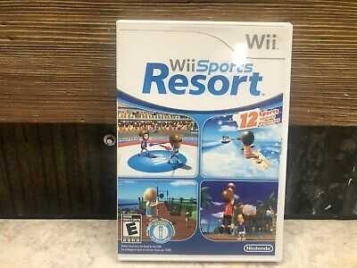 Wii Sports Resort (Nintendo Wii) COMPLETE TESTED FREE SHIPPING & RETURNS #3