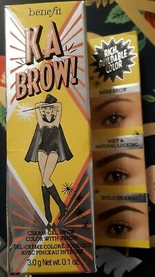 Full Size Benefit KA BROW! Cream-Gel Eye Brow Eyebrow Colour & Brush, 5 3g