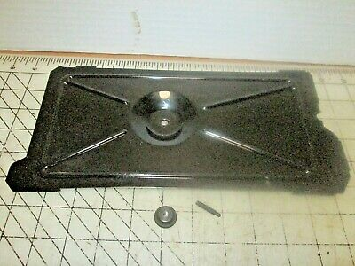 Singer Sewing Machine 301A Bottom Plate with Felt & Mounting Hardware - 301