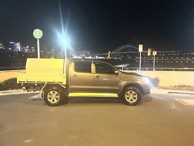 2011 Toyota Hilux 4x4 turbo Diesel KUN26R October 20 NSW Rego manual