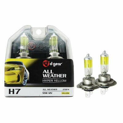 Doppelpack Philips Allweather H7 12V 55W