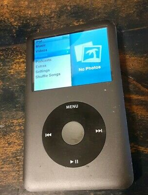 Apple iPod classic 7th Generation Black 120gb
