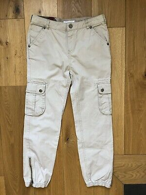100% AUTH boys girls BURBERRY beige TROUSERS 10yrs - FAB COND! RRP£140