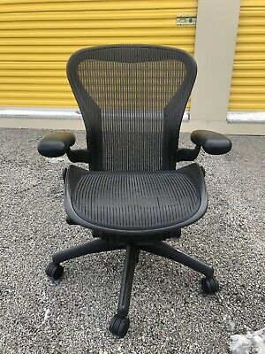Herman Miller Classic Aeron Office Chair basic Model B Medium Size