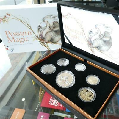 Australia 2020 Possum Magic 6 Coin RAM Baby Proof Set