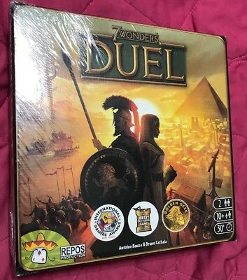 7 Wonders Duel Board Cards Game 2 Player Age 10+ repos Production