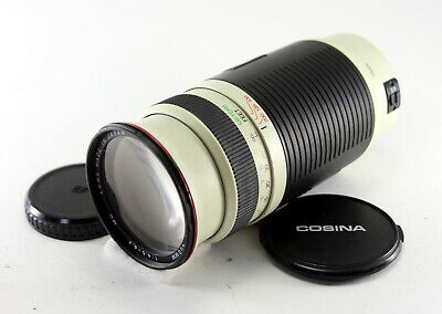 【EXCELLENT】 COSINA 100-400mm f/4.5-6.7 MC for Canon Lens from Japan!