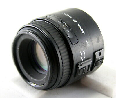 【AS-IS】 Sigma AF MACRO 90mm f/2.8 for Canon Lens from Japan!