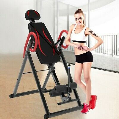 Inversion Therapy Adjustable Table Back Pain Belt Back Stretcher Machine