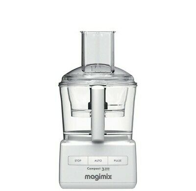 Magimix Compact 3200 Auto Food Processor, White, Missing Shredding Blades
