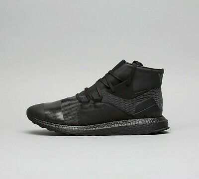 Mens Y-3 Kozoko High Core Black/White/Black Trainers (TSF4) RRP £279.99