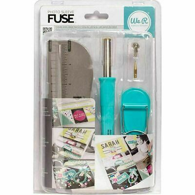 We R Memory Keepers 662533 Photo Book Sleeve Fuse Tool For Crafting NEW SEALED