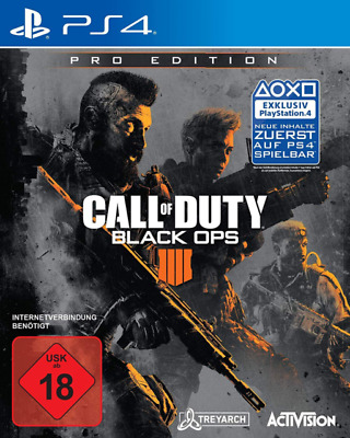 CALL OF DUTY BLACK OPS 4 PRO EDITION sony PS4  Deutsche   Version Neu  VERKAUF