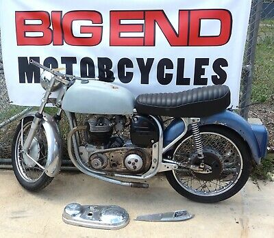 1963 Norton 650 Ss. Project.