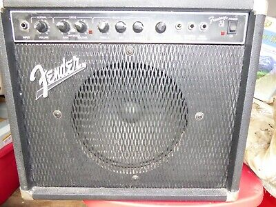 Fender Frontman 25A Guitar Combo Amplifer 25W Overdrive Clean Reverb
