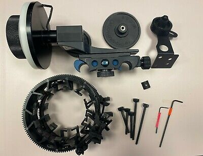 Redrock Micro Follow focus system with 4 gears.