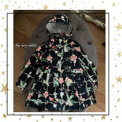 Guaranteed Authentic! TED BAKER Girl's FLORAL BLOOM RAIN COAT MAC Age 7 Years