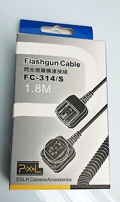 Pixel Flashgun Cable FC-314/S for Panasonic/Olympus