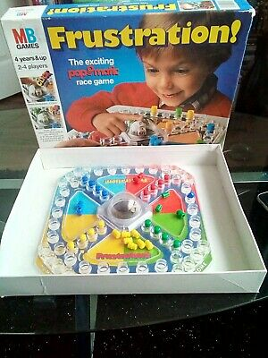 Frustration Board Game By MB 1986 vintage