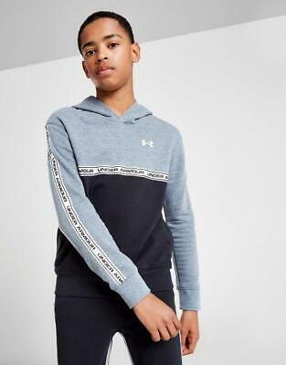 New Under Armour Boys' Double Knit Tape Hoodie