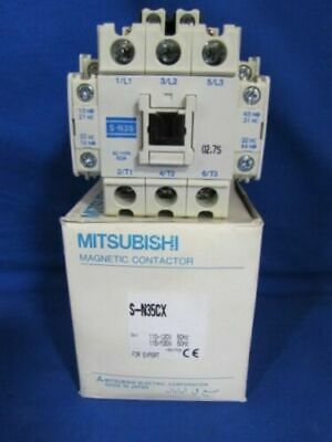 Mitsubishi Magnetic Contactor, S-N35CX