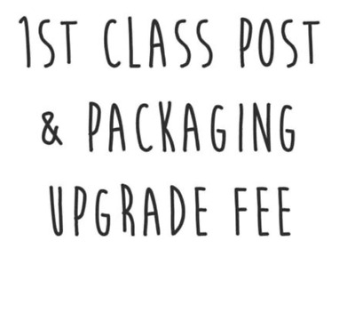 Postage & Packaging Cost or Upgrade (7 to 8)