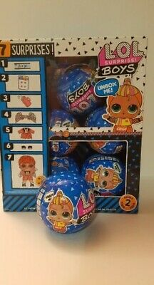 Wholesale Lot Of 6 Lol Surprise Boys Series 2 In Hand