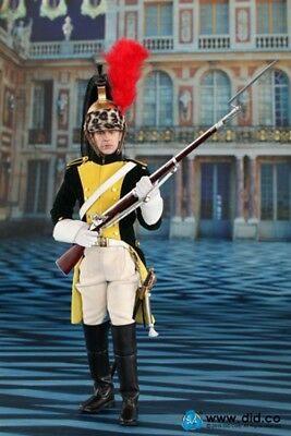 DID DRAGON IN DREAMS 1//6TH SCALE NAPOLEONIC FRENCH DRAGOON SWORD /& BELT HERVE
