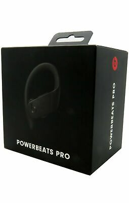 Beats by Dr. Dre Powerbeats Pro Wireless Bluetooth Earphones Black - NEVER USED