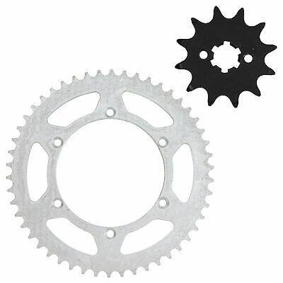 NICHE 520 Pitch Front 12T & Rear 50T Drive Sprocket Kit 1983-1984 Kawasaki KX125