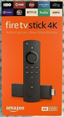 Amazon Fire TV Stick 4K (3rd Gen) with 2nd Gen Alexa Voice Remote - 2019 Release
