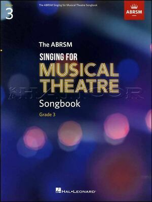 ABRSM Singing for Musical Theatre Songbook Grade 3 Music Book Exam Sing Vocal