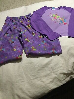 Girls Candlesticks Sleepwear 2 Pc Pjamas Size Large (10/12)